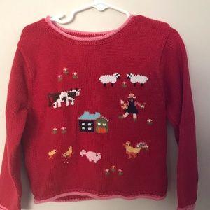 Heartstrings Farm Sweater 4T